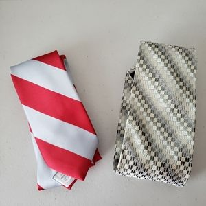 Other - Two Men's Ties: Wembley and Joseph Feiss